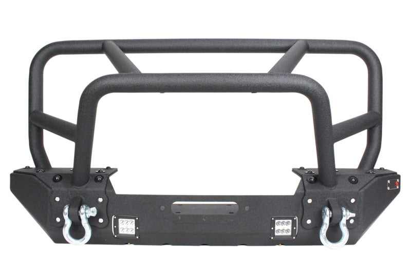 Fishbone Offroad Front Winch Bumper with Full Grille Guard