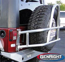 GenRight swing Out Tire Carrier