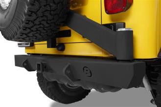 Bestop Highrock Rear Bumper w/ Tire Carrier