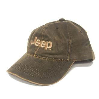 Weathered JEEP Logo Hat