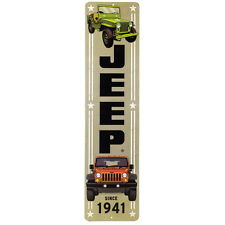 Vertical Jeep Sign