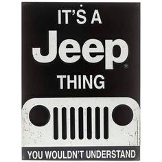 It's A Jeep Thing Magnet