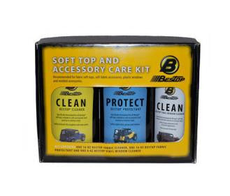 Bestop Soft Top Cleaner and Protectant Kit