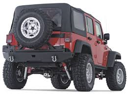 Warn Rock Crawler Rear Bumper