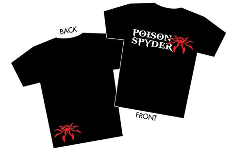 Poison Spyder Red, White & Black T-shirt