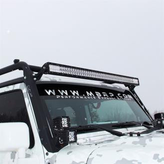 Off Camber Fabrications Windshield Light Kit