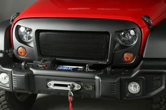 Rugged Ridge Spartan Grill With Black Screen