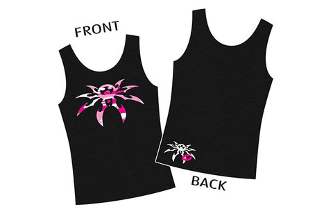 Ladies Camo Spyder Tank