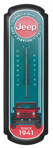 Oversized Jeep Thermometer