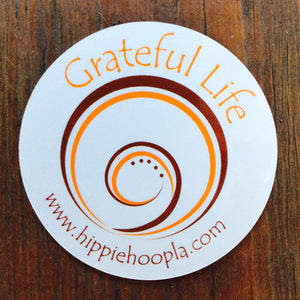 Grateful Life Car Magnet