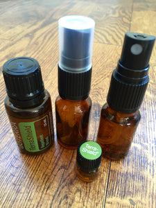 Travel size Spray bottle w/1ml bottle TerraShield