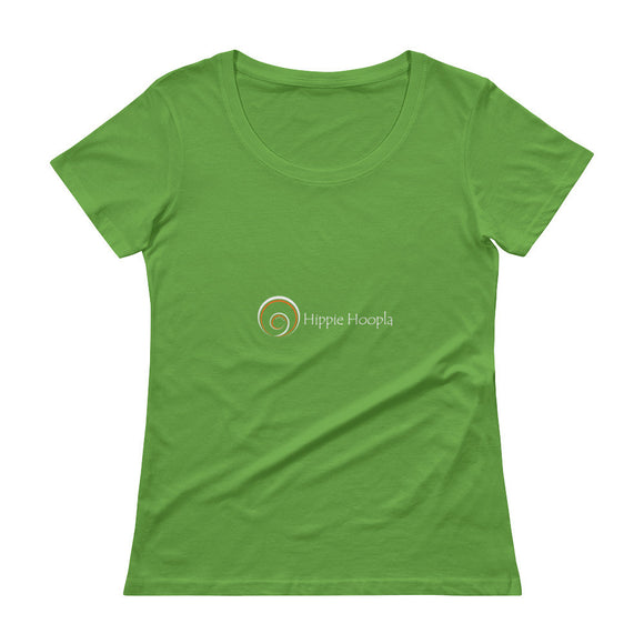 Hippie Hoopla - Ladies' Scoopneck T-Shirt