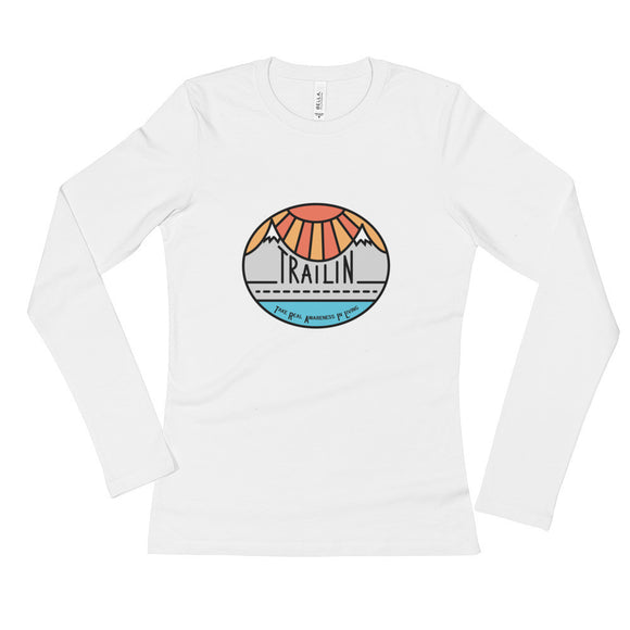TRAILin - Ladies' Long Sleeve T-Shirt