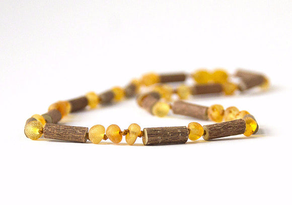 Hazelwood with Baltic Amber for Infant to Adult Jewelry -Necklace, Bracelet & Anklet -Light, 7