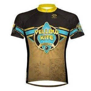 Primal Wear Yellow Kite summer Pils Cycling Jersey