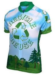 Recycle Reuse Cycling Jersey