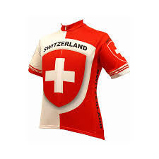 Switzerland Cycling Gersey