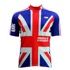 United Kingdom Flag Cycling Jersey