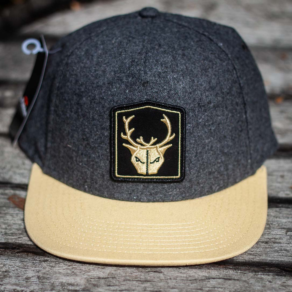 Charcoal Twill - Snapback – Wild Beer Co 41c3df96dfd