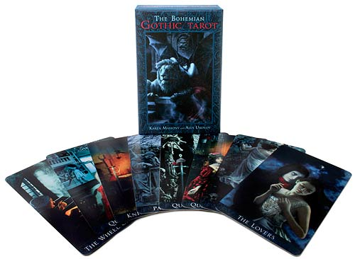 Bohemian Gothic Tarot. Victoriana vampires, ghosts, werewolves, demons