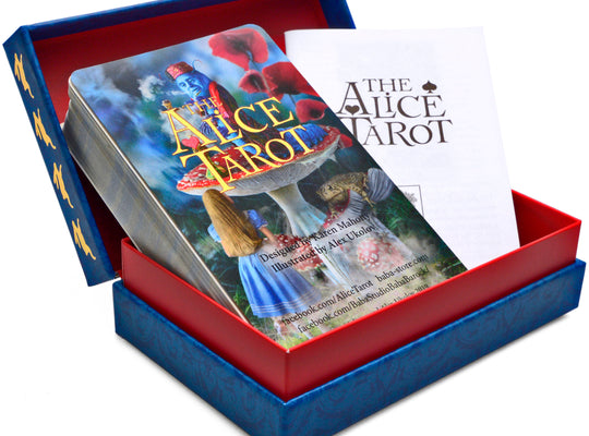 Alice Tarot | Alice in Wonderland | Tarot deck | tarot cards | limited edition
