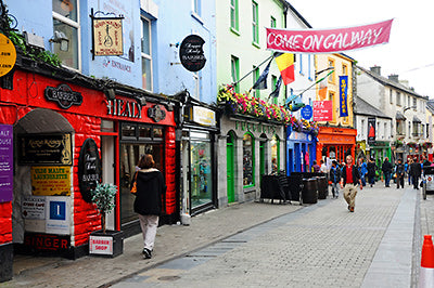Galway City, shopping in ireland, best buys in ireland, macnas halloween, halloween in ireland