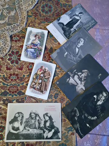 Bohemian Fortune-telling Victorian style card deck. By BabaBarock.