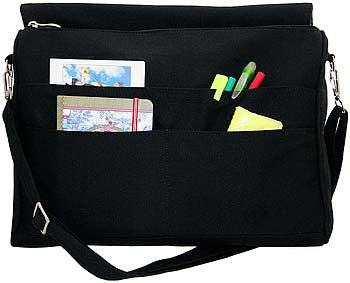 BBCats, Siamese Needlewoman, customisable messenger bag - Baba Store - 2