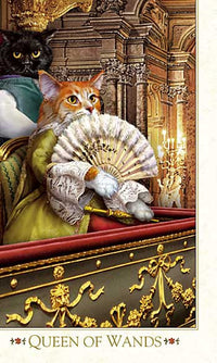 Baroque Bohemian Cats' Tarot MINI Deck - Baba Store - 4
