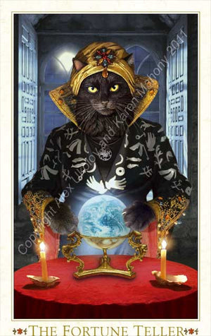 Baroque Bohemian Cats' Tarot MINI Deck - Baba Store - 6