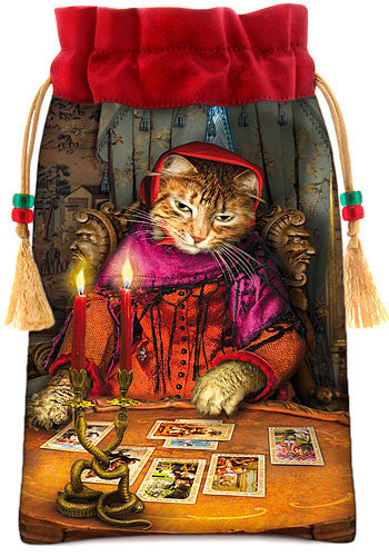 Baroque Bohemian Cats' Tarot MINI Deck - Baba Store - 2