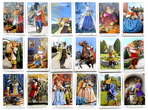 Baroque Bohemian Cats' Tarot MINI Deck - Baba Store - 7
