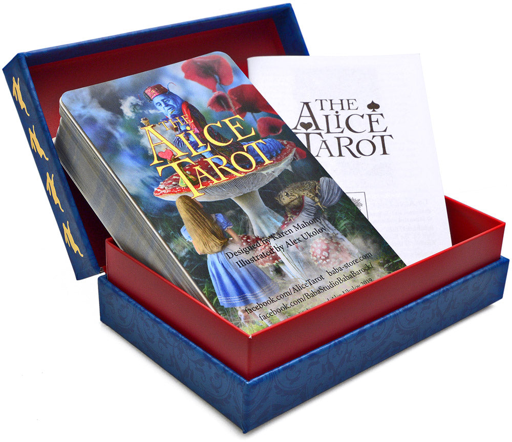 Now sold out. The Alice Tarot  — Standard deck, second edition.