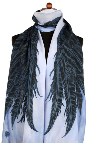Angel wings scarves / wraps, Gothic scarf by Baba Studio