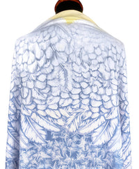 Wings of an Angel, pale version, soft viscose scarf/wrap. - Baba Store - 6