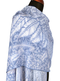 Wings of an Angel, pale version, soft viscose scarf/wrap. - Baba Store - 5