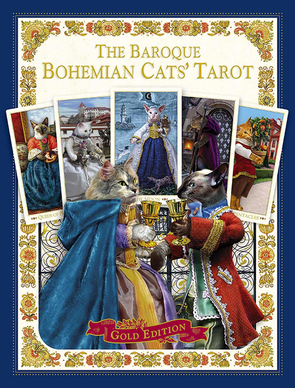 "The Baroque Bohemian Cats' Tarot ""Gold"" limited edition. Moving ""destash"" from our own collection. - Baba Store - 1"