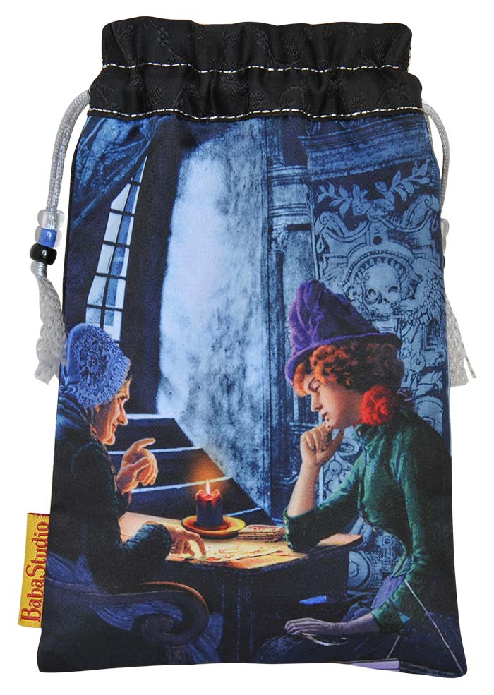 The Tarot Reader — limited edition drawstring bag.