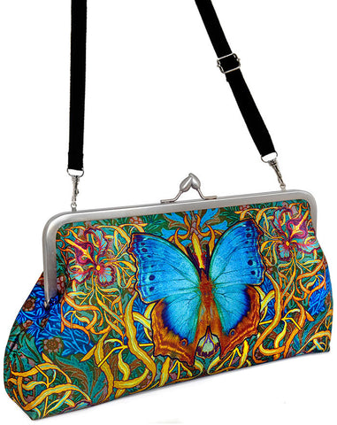 Butterfly Belle, 10 inch size in dupion