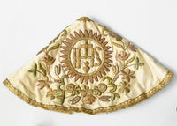 child of prague, infant of prague, embroidery, antique, gold work, robe