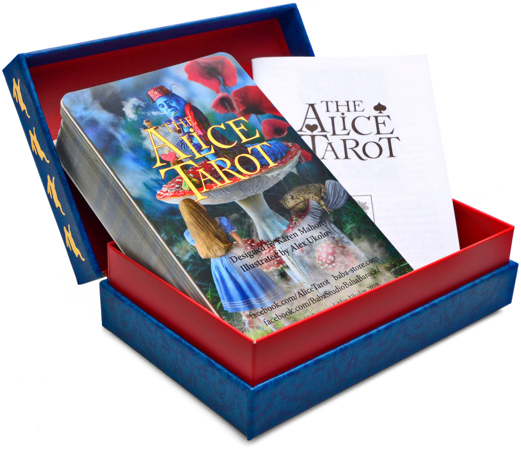 The Alice Tarot  — Standard deck, second edition. Wholesale