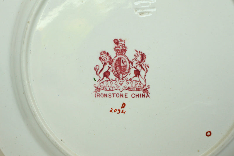 mason's, ironstone, dinner service, plate, 19th century, ashworth, chinoiserie