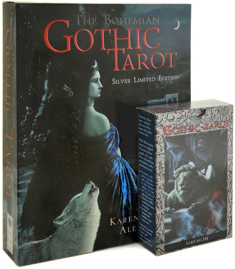 "The Bohemian Gothic Tarot ""Silver"" limited edition. - Baba Store - 1"