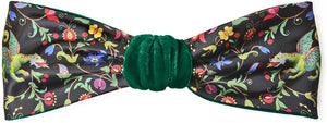 Mythical Unicorns - green velvet headband with unicorn print by Baba Studio