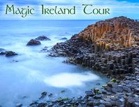 Northern Ireland tour, Giant's Causeway, Irish legends, mythology, fairytales, Magic Ireland tour with Baba Studio