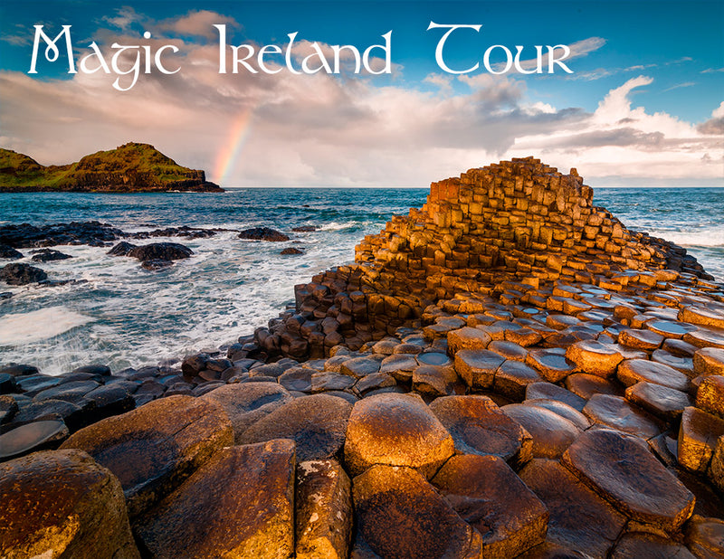 Giant's Causeway in Northern Ireland, Magic Ireland tour, legends, fairytale, myth