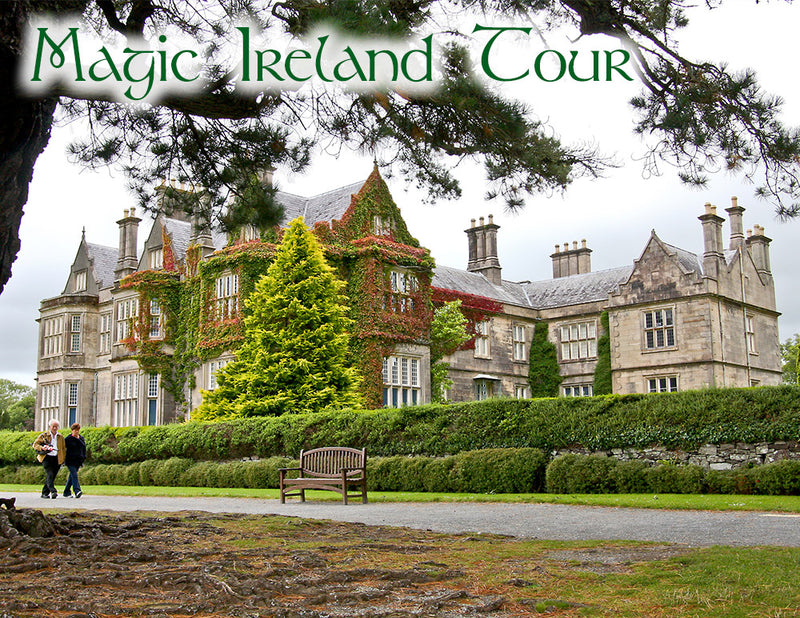 Tour in Killarney, Muckross House, Magic Ireland guided tours, Irish history, legends