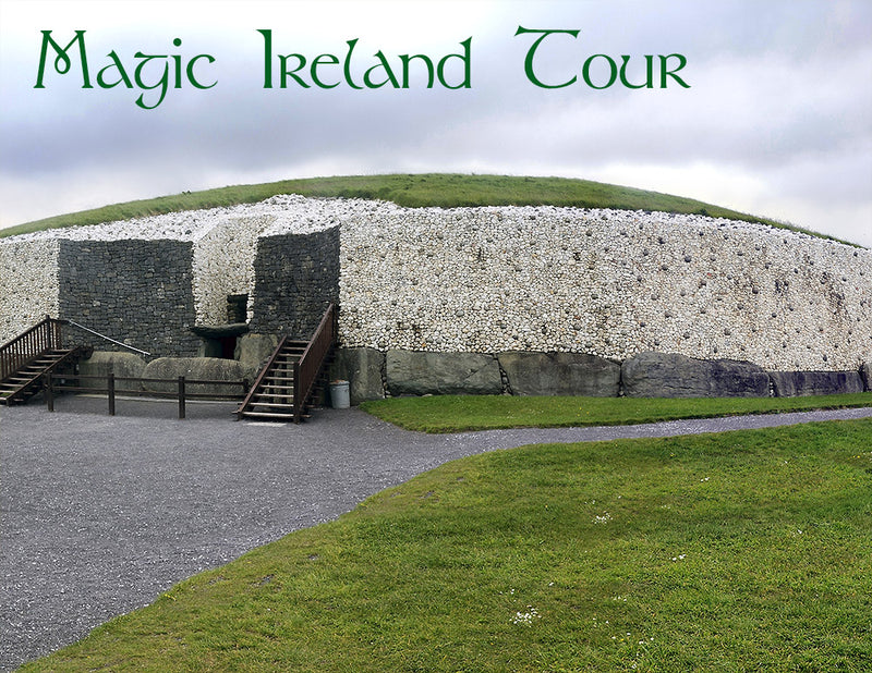 Magic Ireland Tour, visit Newgrange, Boyne Valley, Ancient East myth, legend, archaeology