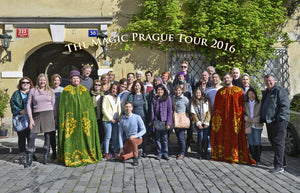 Baba Studio tours - guided tour of Magic Ireland, Magic Prague