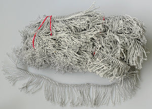 Czech-made silver fringing